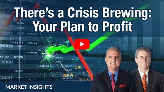In today's Market Insights, experts Jeff Yastine and Michael Carr are here to help you navigate market chaos … and make lots of money while doing it.