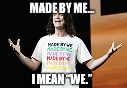 "WeWork CEO Adam Neumann is more ""me"" than ""we."""