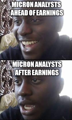 Tech Stock Meme