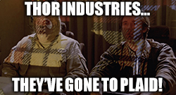 Thor Industry earnings send THO stock plaid.