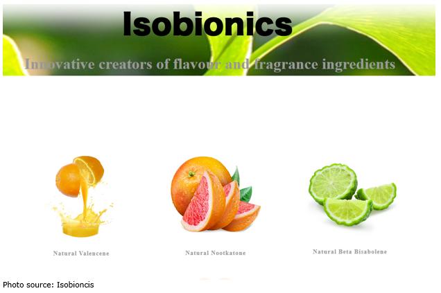 Isonionics scents