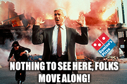 Domino's is still a hot mess, don't let the buyback fool you.