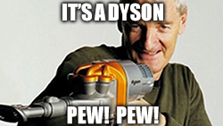 Dyson Ltd. scrapped its $2.5 billion EV project. Apparently, being good at sucking doesn't translate well into making cars.