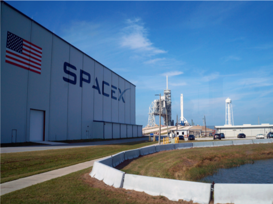 SpaceX building outside
