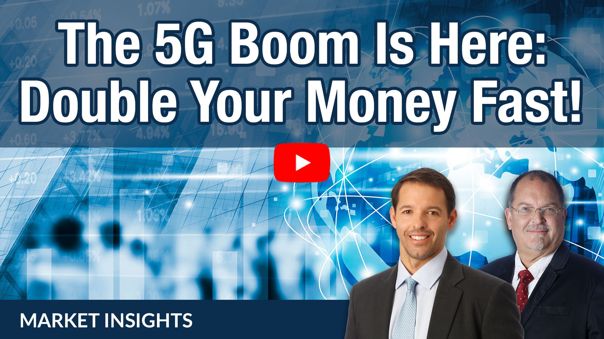 The new 5G internet is more than 10 times faster than 4G. This massive upgrade will enable a wide variety of new devices and industries, setting investors up for quick 100%-plus gains.