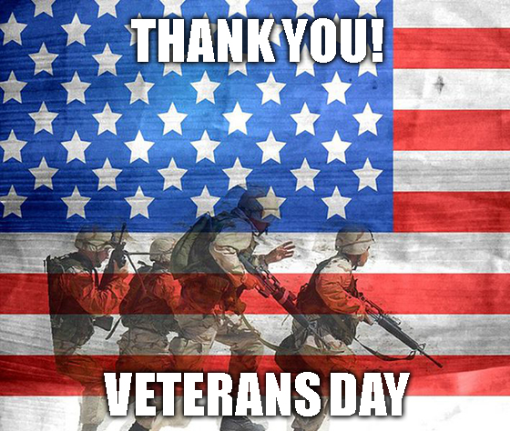 Thank You Veterans Day 2019