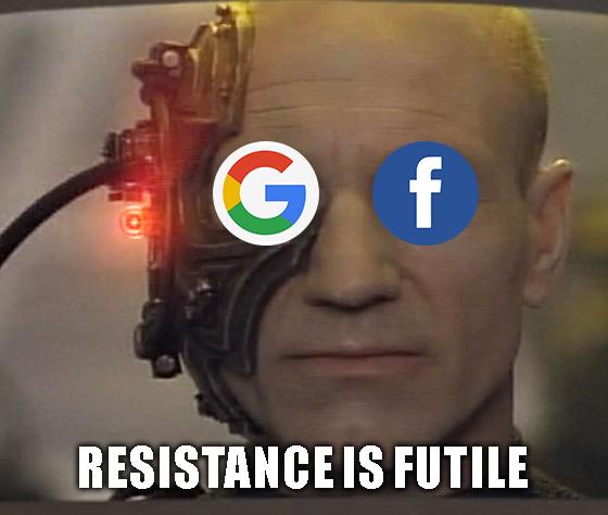 Google and Facebook Banking Accounts
