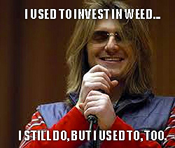 After earnings, Tilray Inc. (TLRY), which finds itself floating in stale bong water.