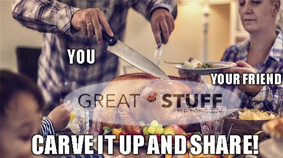 Great Stuff: Tis the Season for Sharing!