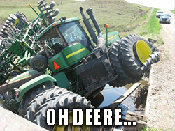 Deere (DE) earnings beat by a penny per share and revenue topped by about 16.5%. However, Deere warned of uncertainties in the agricultural sector.