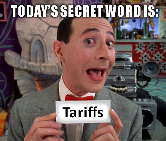Great Stuff Word of the Day Tariff Meme