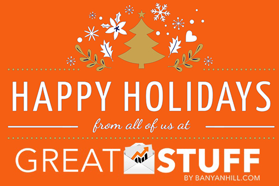 Happy Holidays from Great Stuff