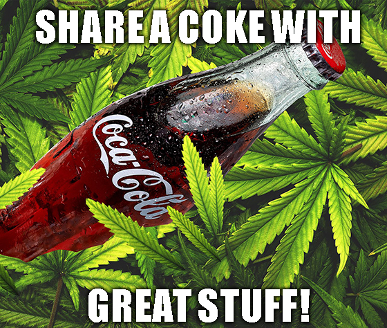 Oops, did someone break a nondisclosure agreement on a Coke-Aurora tie-up? Only Cannabis 2.0 and time will tell.