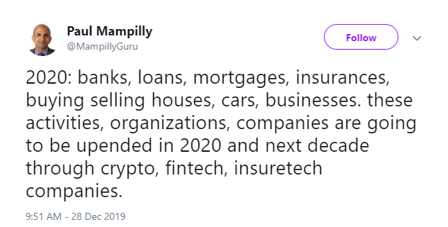 invest in crypto Paul Mampilly tweet
