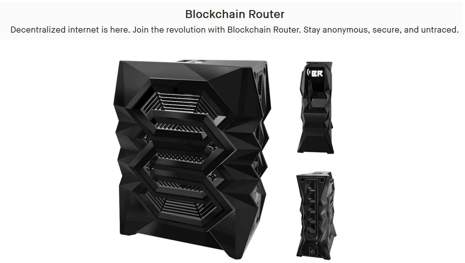 Blockchain Router Image