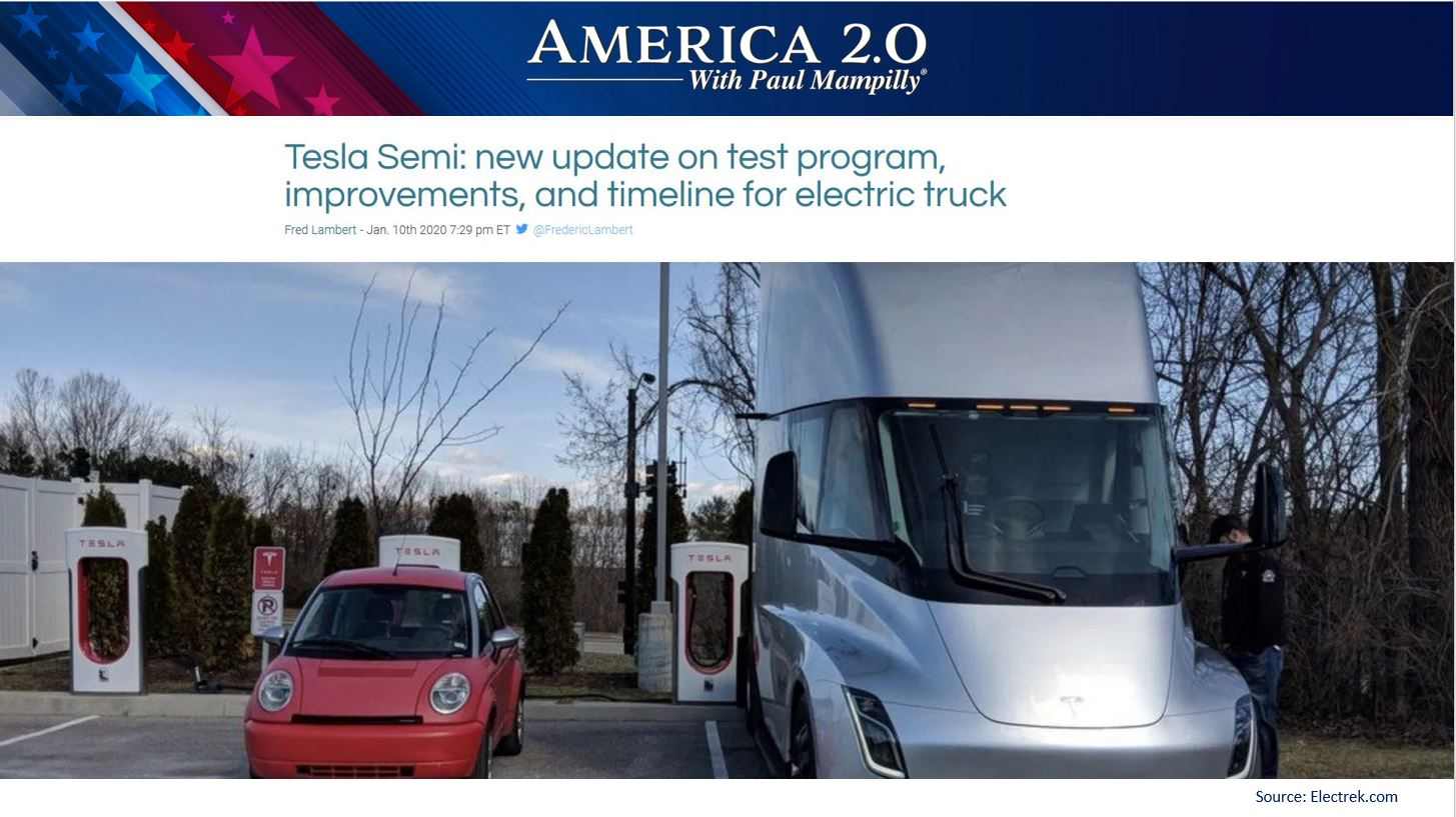 America 2.0 Tesla Semi Truck Update