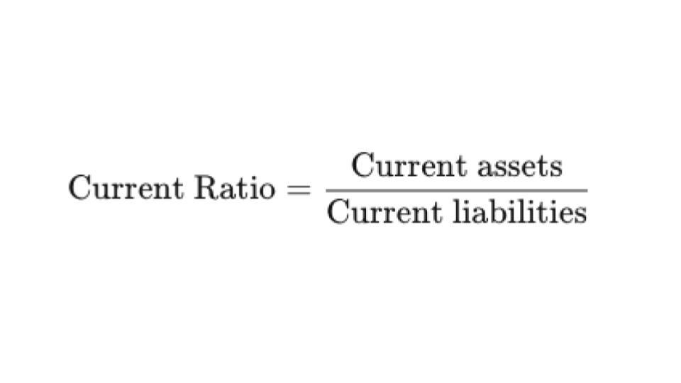 Current Ration formula