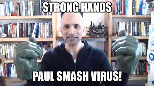 Paul Mampilly's Strong Hands