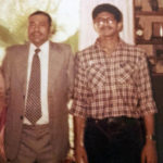 Paul Mampilly and his father