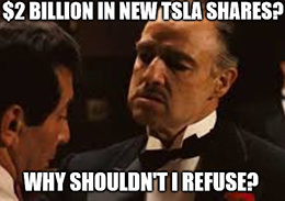 You know when a company says it'll sell more shares, and investors get worried about shareholder dilution? Yeah … that didn't happen with Tesla Inc. (TSLA).