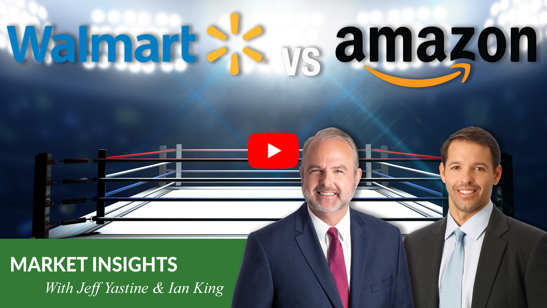 In today's Market Insights, I discuss Walmart's recent success with my friend and colleague Jeff Yastine … as well as the company's ongoing battle with Amazon.