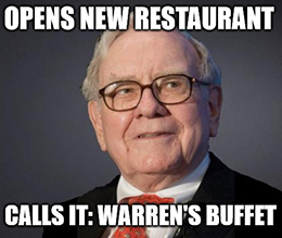 You probably think Great Stuff is crazy right now. But tell me … do you think Warren Buffett is crazy?