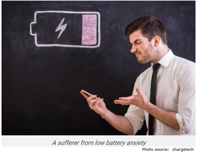 low battery angry