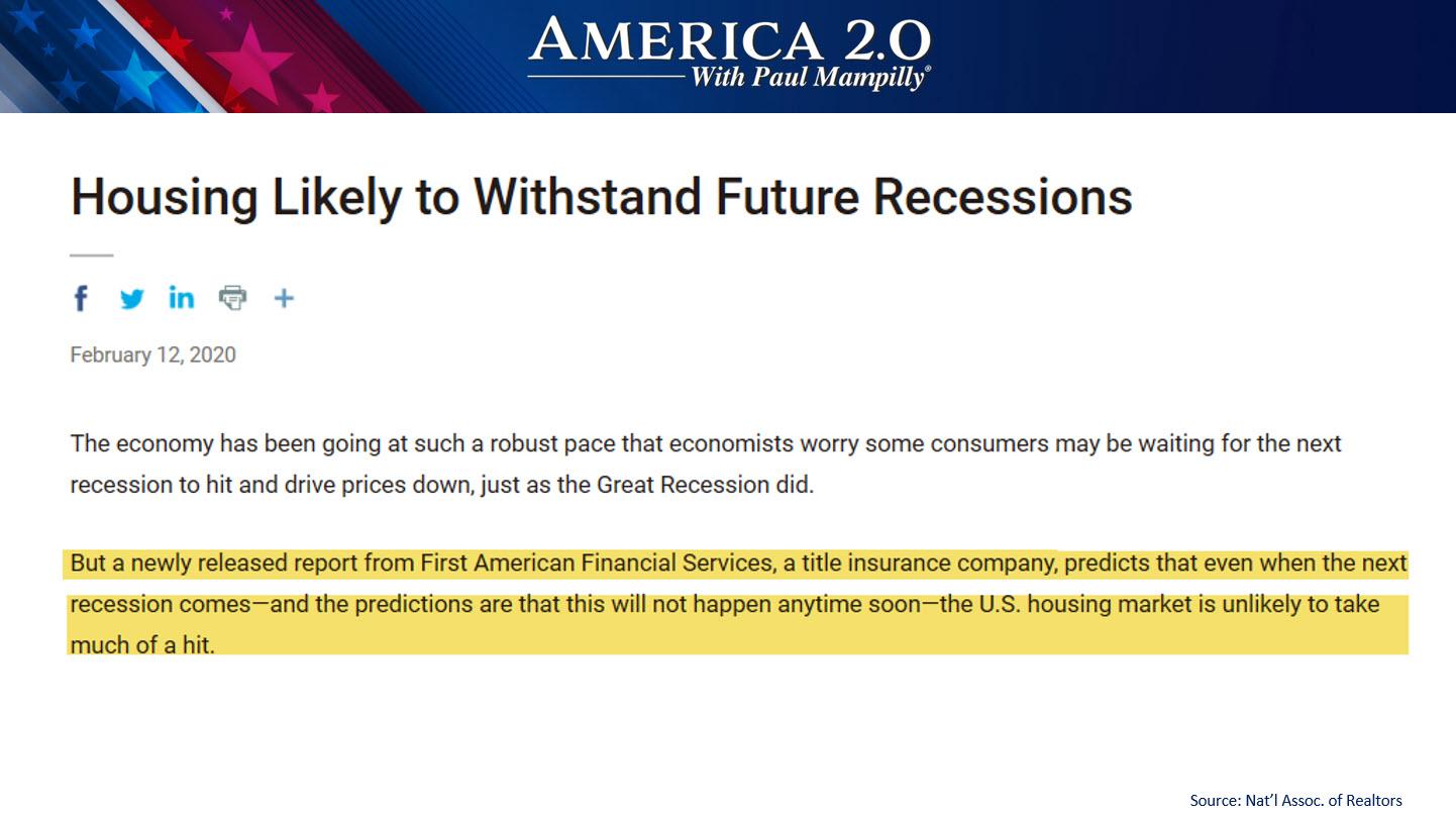 likelihood of surviving future recessions
