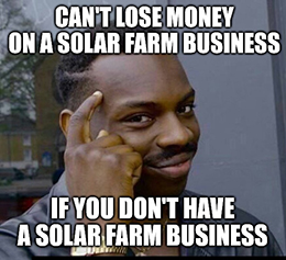 First Solar Inc. (Nasdaq: FSLR) plunged more than 13% today, after it reported a bearish trifecta.