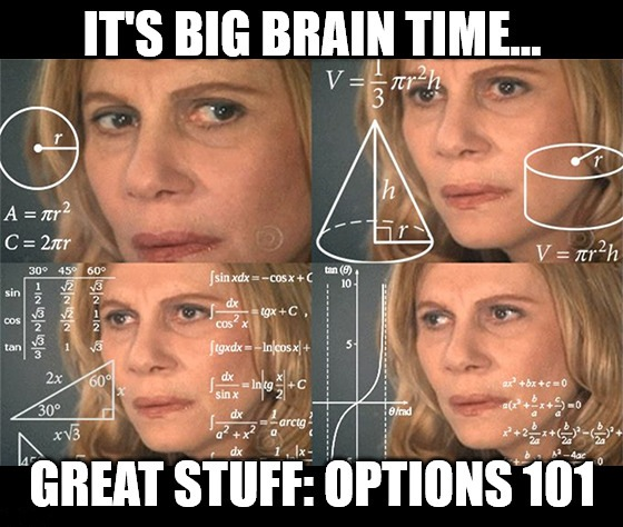 For the next three days, Great Stuff will give you a primer on trading options. Just remember: You asked for it! (Don't worry … I'll take it slow.)