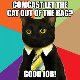 """Comcast Corp. (Nasdaq: CMCSA) has done the unthinkable it's skipping the """"theatrical window"""" for movie releases."""
