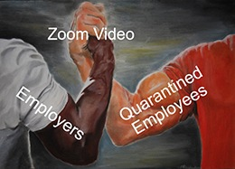 One of the real winners amid the coronavirus quarantines is Zoom Video Communications Inc. (Nasdaq: ZM).
