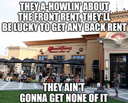 Wanna tell you a story about the Cheesecake Factory Inc. (Nasdaq: CAKE) blues…