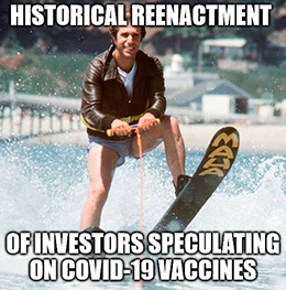 British American Tobacco PLC (NYSE: BTI) announced today that it's working on a COVID-19 vaccine. Yes, the maker of Lucky Strikes and Camel cigarettes is making a vaccine for respiratory infections. Oh, the irony!
