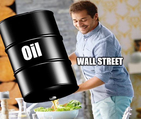 A lack of storage sent oil prices negative. They're practically paying you to take oil right now. That's bad, in case you were wondering.