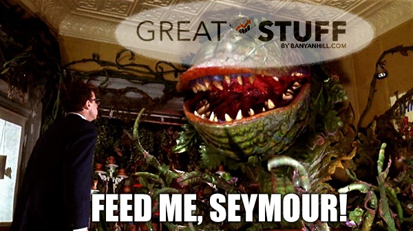 Reader Feedback: It's time to feed the Great Stuff beast.
