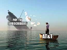 AT&T shed 897,000 pay-TV subs and 138,000 streaming video subs. How do you lose streaming subs in a quarantine?