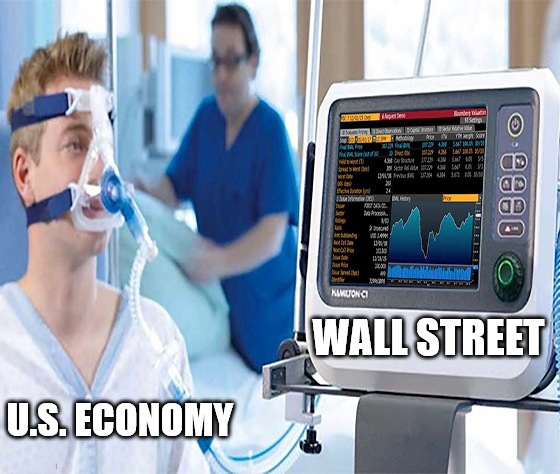 The economy sheds 26 million jobs, and Wall Street rallies. No, this isn't a glitch in the Matrix … no matter how much we wish it was.