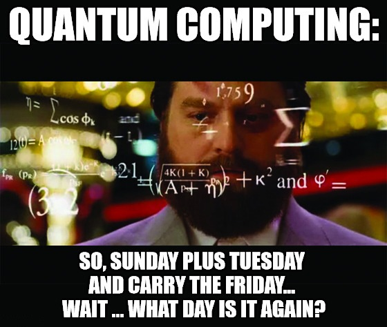 Trump requested $237 million for quantum computing. Now that's a horse (and a tech mega trend) of a different color.