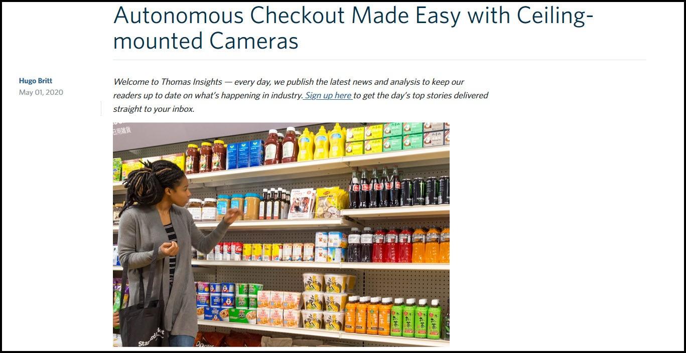 Autonomous Checkout