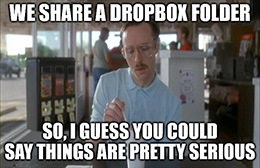 Today, Dropbox dropped, while Box barely dropped. Dropbox's drop shows us that, even when you outbox Box, you can still get boxed in.
