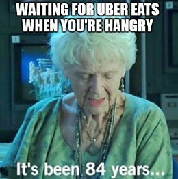 Uber Technologies Inc. (NYSE: UBER) is hungry, and it reportedly set its sights on gobbling down Grubhub Inc. (NYSE: GRUB).