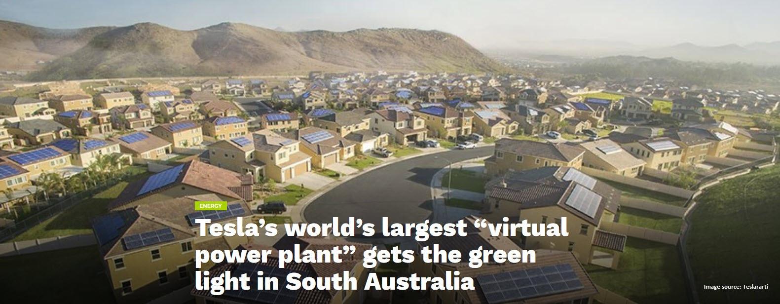 Tesla South Australia
