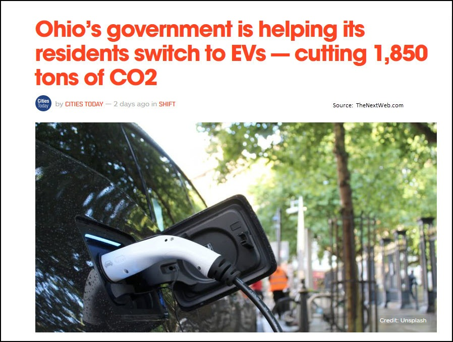 Ohio Electric Vehicles Smart City June 2020