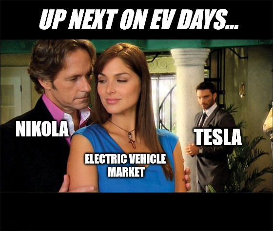 Drama builds in the electric-vehicle market as Tesla and Nikola go head to head, while Ford jaunts off to Germany with Volkswagen.