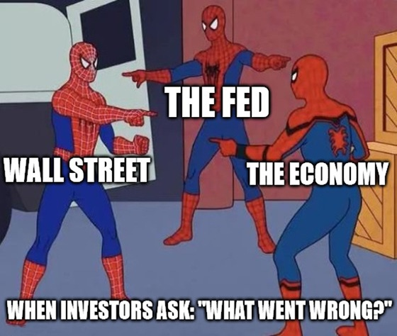 The Fed just pulled back the curtain on the U.S. economy, and Wall Street didn't like what it saw. Remember, market volatility is a double-edged sword.