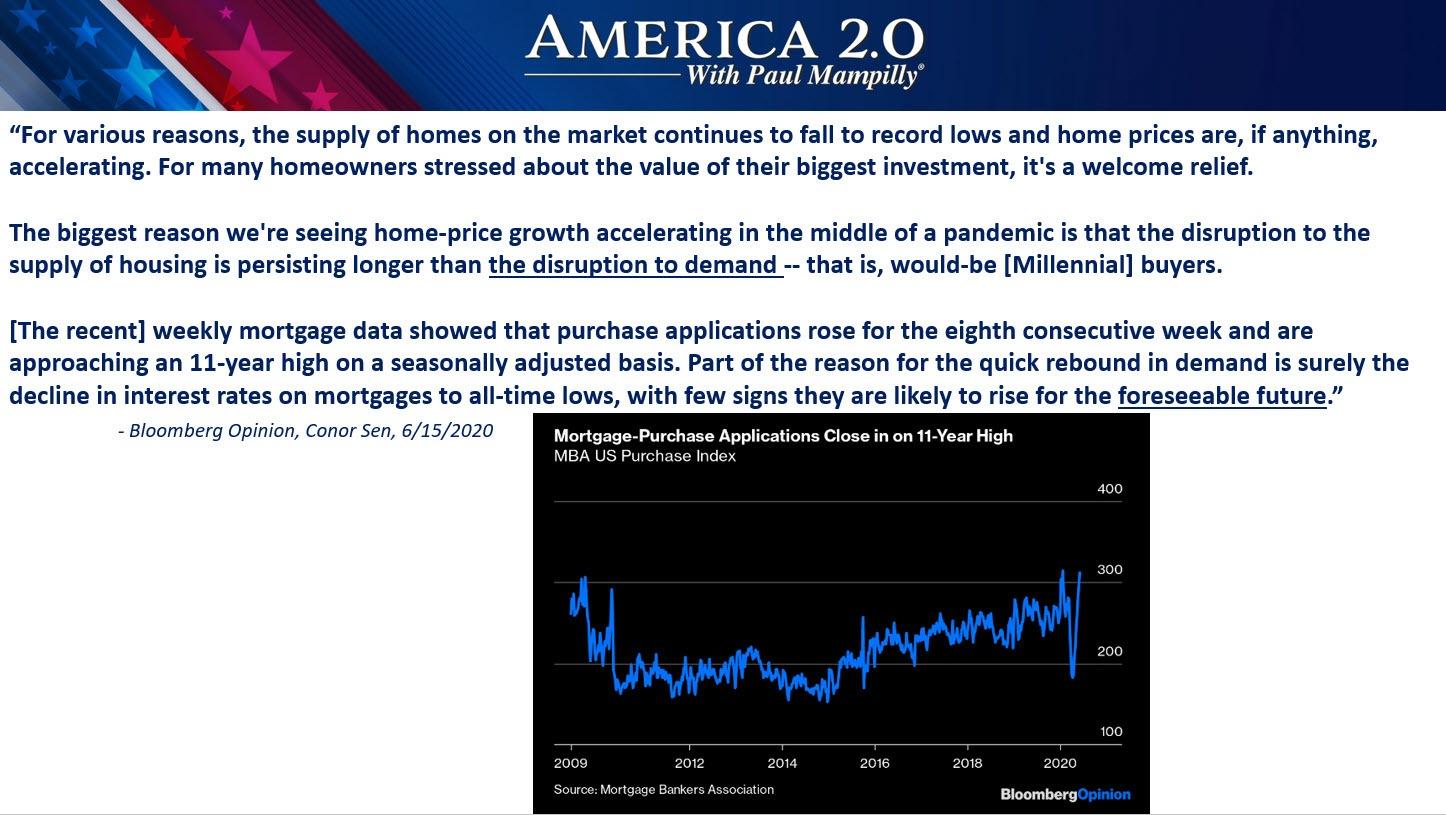 America 2.0 Millennials & Housing June 2020