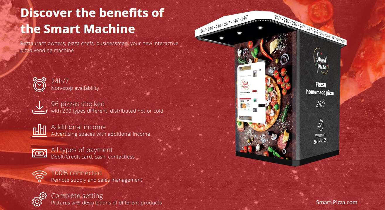 Smart Pizza Vending Machine June 2020