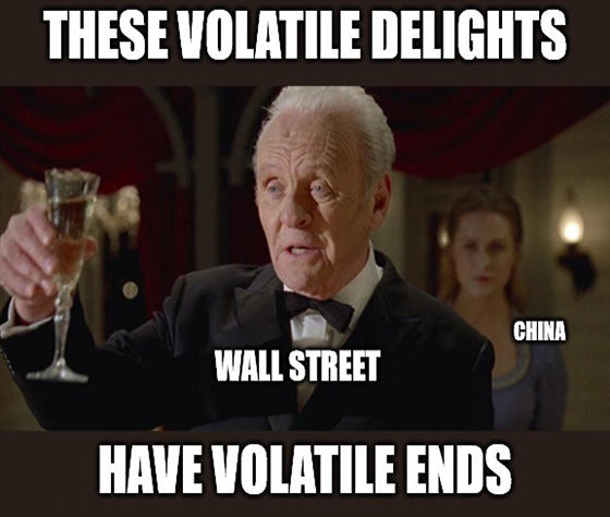 Wall Street is so jumpy right now that three words nearly crashed the market. How's that for extreme volatility?