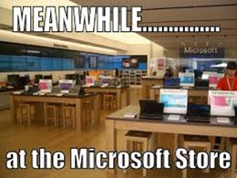 Microsoft Corp. (Nasdaq: MSFT) will finally get rid of its physical store locations. Let's be honest, Microsoft stores weren't the best idea to begin with.